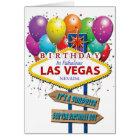 Surprise Birthday Las Vegas Card