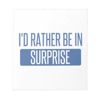 Surprise Notepad