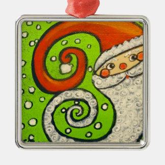 Surprise Santa Christmas Ornament