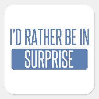 Surprise Square Sticker