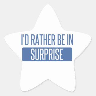 Surprise Star Sticker