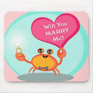 Surprise Wedding Proposal  Mousepad