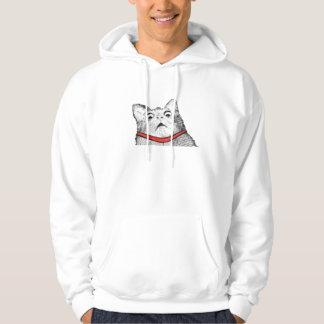 Surprised Cat Gasp Meme - Hoodie