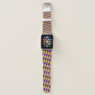 Surprised Eggplant by Kenneth Yoncich Apple Watch Band