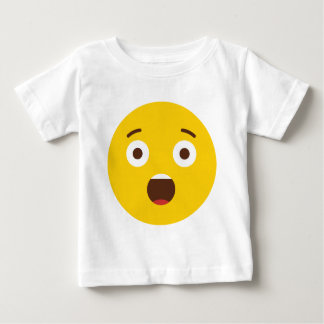 Surprised Emoji Baby T-Shirt