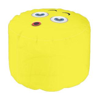 Surprised Emoji Pouf