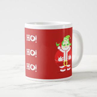 Surprised Santa coffee mug