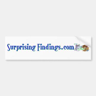 SurprisingFindings Bumper Sticker