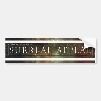 Surreal Appeal Bumper Sticker