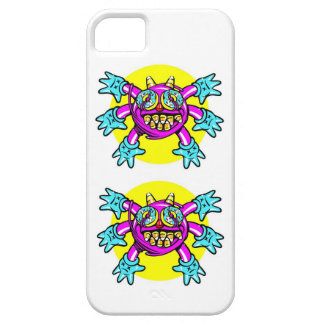 Surreal Cartoon bubblegum monster iPhone 5 Cases