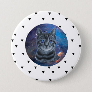 Surreal Cat 7.5 Cm Round Badge
