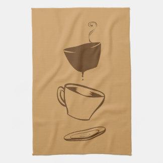 Surreal Coffee Hand Towels