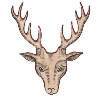 Surreal Deer Head Photo Sculpture