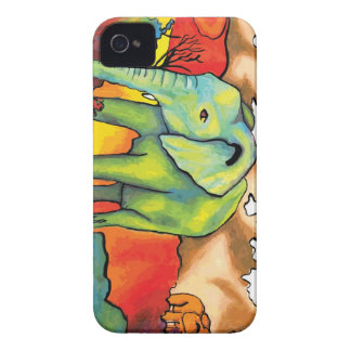 Surreal Elephants iPhone 4 Cover