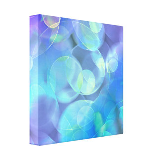 Surreal Fractal Abstract Design Stretched Canvas Prints