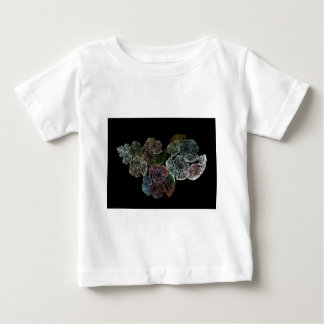 Surreal fractal flowers baby T-Shirt