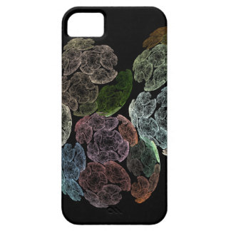 Surreal fractal flowers barely there iPhone 5 case