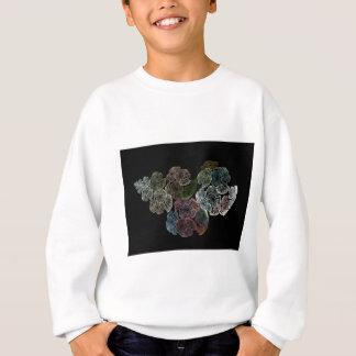 Surreal fractal flowers sweatshirt