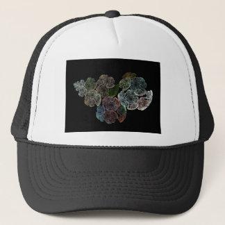 Surreal fractal flowers trucker hat