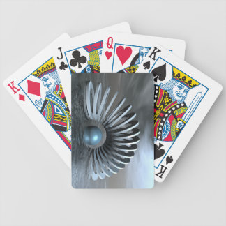 Surreal Frozen Sea Bicycle Playing Cards