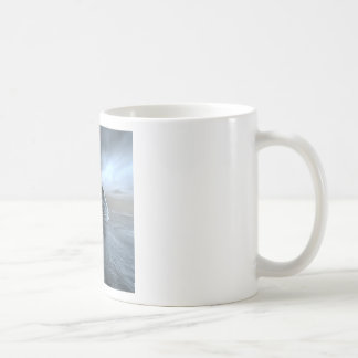 Surreal Frozen Sea Coffee Mug