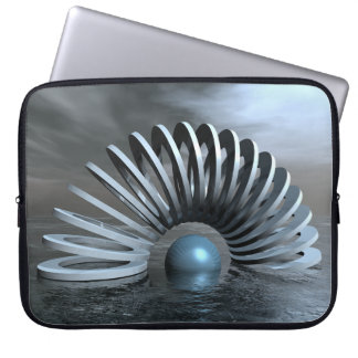 Surreal Frozen Sea Laptop Sleeve