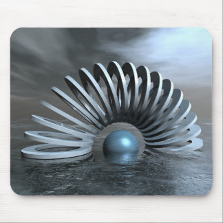 Surreal Frozen Sea Mouse Pad