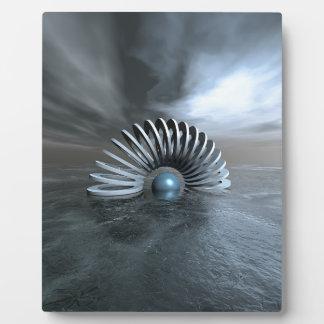 Surreal Frozen Sea Plaque