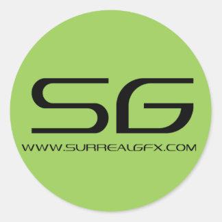 Surreal GFX Sticker