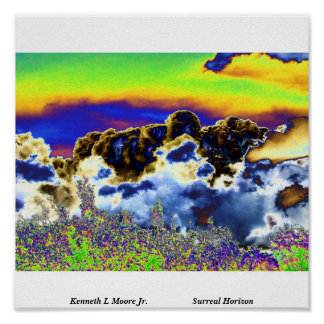 Surreal Horizon. Print