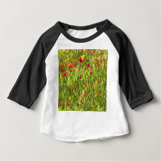 Surreal Hypnotic Poppies Baby T-Shirt