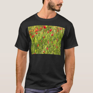 Surreal Hypnotic Poppies T-Shirt