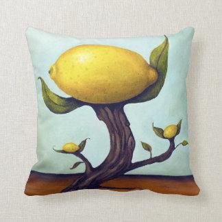 Surreal Lemon Tree Throw Cushions