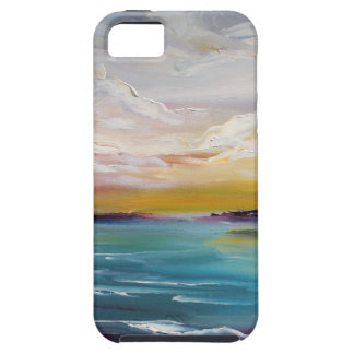 Surreal Ocean Waves and Clouds Tough iPhone 5 Case