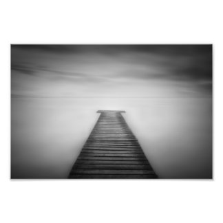 Surreal Pier Landscape Photo Print