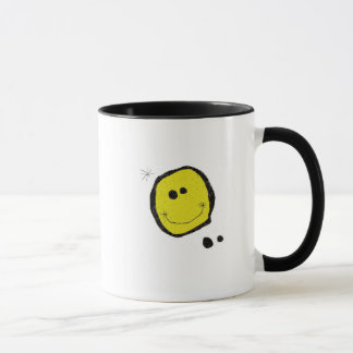 surreal smiley coffee mug