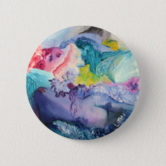 Surrealism Color 6 Cm Round Badge
