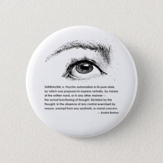 Surrealism Defined 6 Cm Round Badge