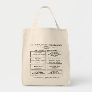SURREALISM (LA REVOLUTION SURREALISTE) Tote Bag Grocery Tote Bag
