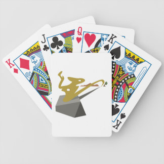 Surrealist Landscape Bicycle Playing Cards