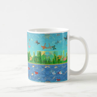 Surrealistic Sky and Seascape Coffee Mug