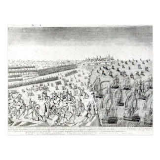 Surrender at Yorktown, 1781 Postcard