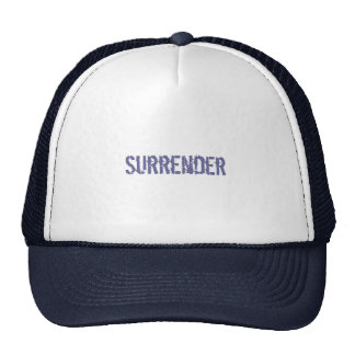 Surrender cap