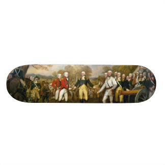 Surrender of General Burgoyne by John Trumbull Custom Skateboard