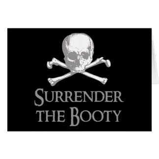 Surrender the Booty Card