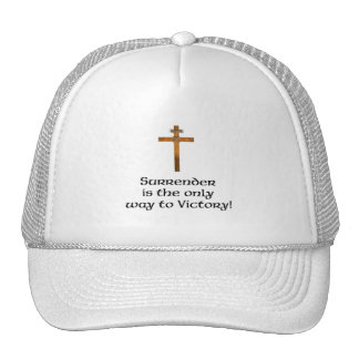 """Surrender the Only Way to Victory"" Hat"