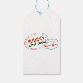 Surrey Been there done that Gift Tags