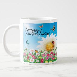 Surrogacy Is Love for a Lifetime Large Coffee Mug