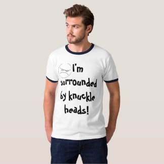 SURROUNDED BY KNUCKLE HEADS tee