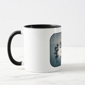 Surrounded soldier mug